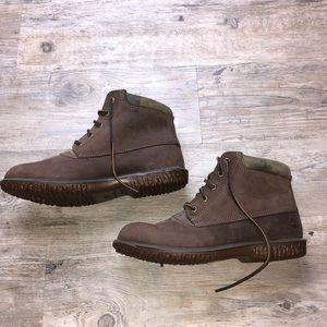 Timberland women's waterproof brown booties